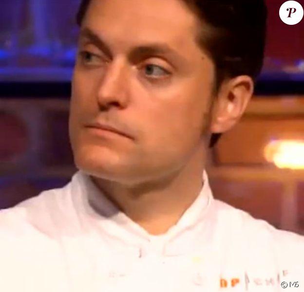 """Jean-François est éliminé - """"Top Chef 2017"""" sur M6, le 29 mars 2017."""