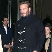 David Beckham et son effrayante cicatrice au visage : le charme n'opère plus...