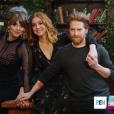 """Amber Benson, Alyson Hannigan et Seth Green réunis pour les 20 ans de """"Buffy contre les vampires"""" (mars 2017)."""