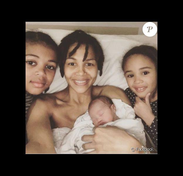 Ayo annonce la naissance de son 3e enfant sur Facebook avec une superbe photo - mars 2017