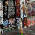Vue du 5 bis, rue de Verneuil, ancien hôtel particulier de Serge Gainsbourg, lors du lancement officiel de l'Association Serge Gainsbourg au cabaret Don Camilo à Paris, le 2 avril 2017. © Coadic Guirec/Bestimage