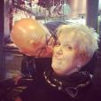 Mimi Mathy, après son opération du dos, avec son mari - Photo publiée sur Instagram le 31 mars 2017
