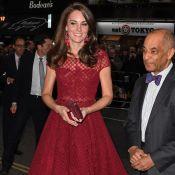 Kate Middleton : Caliente en Marchesa et en transparence dans le West End