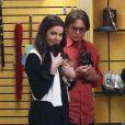 Khloé Kardashian et Bruce Jenner dans une animalerie à Sherman Oaks, le 27 février 2013.