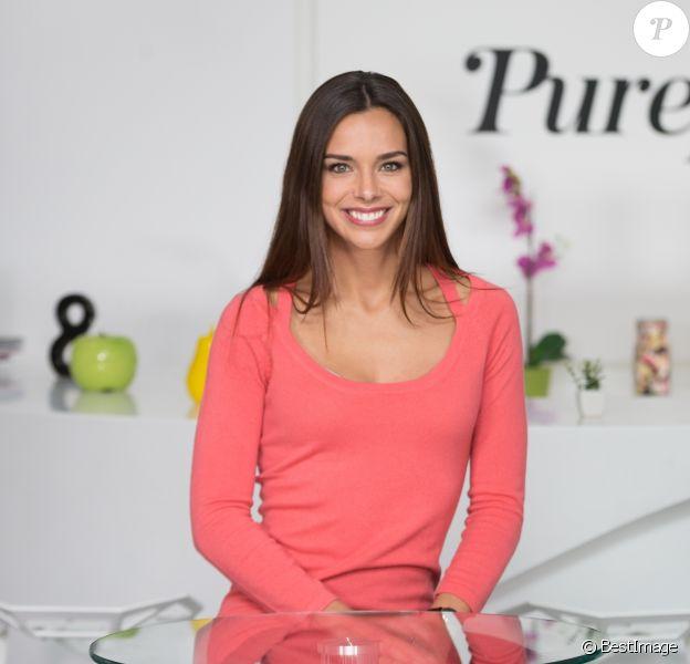 Exclusif - Rendez-vous avec Marine Lorphelin (Miss France 2013) dans les locaux de Webedia pour une interview avec Purepeople à Levallois-Perret le 8 février 2017.