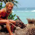 ...mais a dû les perdre au cours du film tel un véritable Robinson Crusoë !