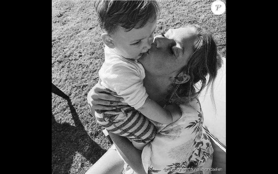 Aurélie Van Daelen et Pharell, un tendre moment - Instagram, 2017