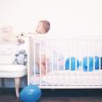 Le petit Pahrell, fils d'Aurélie Van Daelen, le 3 janvier 2017 pour son premier anniversaire.