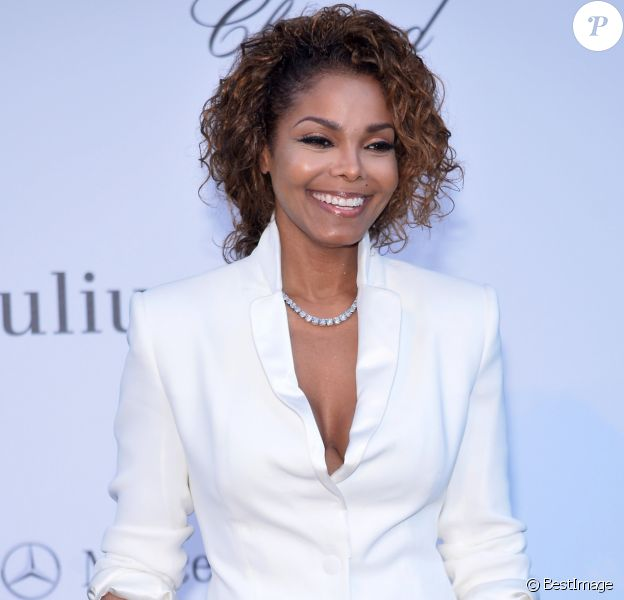 "Janet Jackson - Photocall de la soiree ""Amfar's 20th Cinema Against AIDS"" a l'Eden Roc au Cap d'Antibes lors du 66eme festival du film de Cannes le 23 mai 2013"