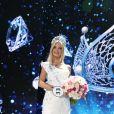 Polina Popova (Miss Sverdlovsk Oblast) remporte la finale de Miss Russie 2017. Moscou, le 15 avril 2017.