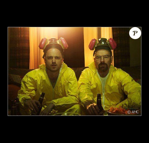 Breaking Bad : Photo Aaron Paul, Bryan Cranston