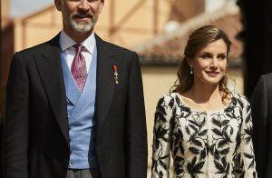 Felipe VI et Letizia d'Espagne : Tout en élégance pour honorer Eduardo Mendoza