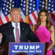 Ivanka, Donald et Melania Trump à Briarcliff Manor, le 7 juin 2016. © Agence/Bestimage