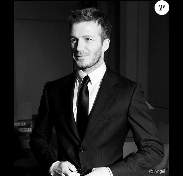 Fashion week masculine 2009-2010 à Milan : David Beckham n'a pas manqué le rendez-vous !