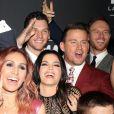 """Channing Tatum et sa femme Jenna Dewanà la Soirée d'inauguration du spectacle """"Magic Mike Live"""" au Hard Rock Hotel et Casino de Las Vegas le 21 avril 2017."""