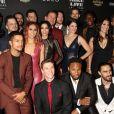 """Jenna Dewan, Channing Tatumà la Soirée d'inauguration du spectacle """"Magic Mike Live"""" au Hard Rock Hotel et Casino de Las Vegas le 21 avril 2017."""