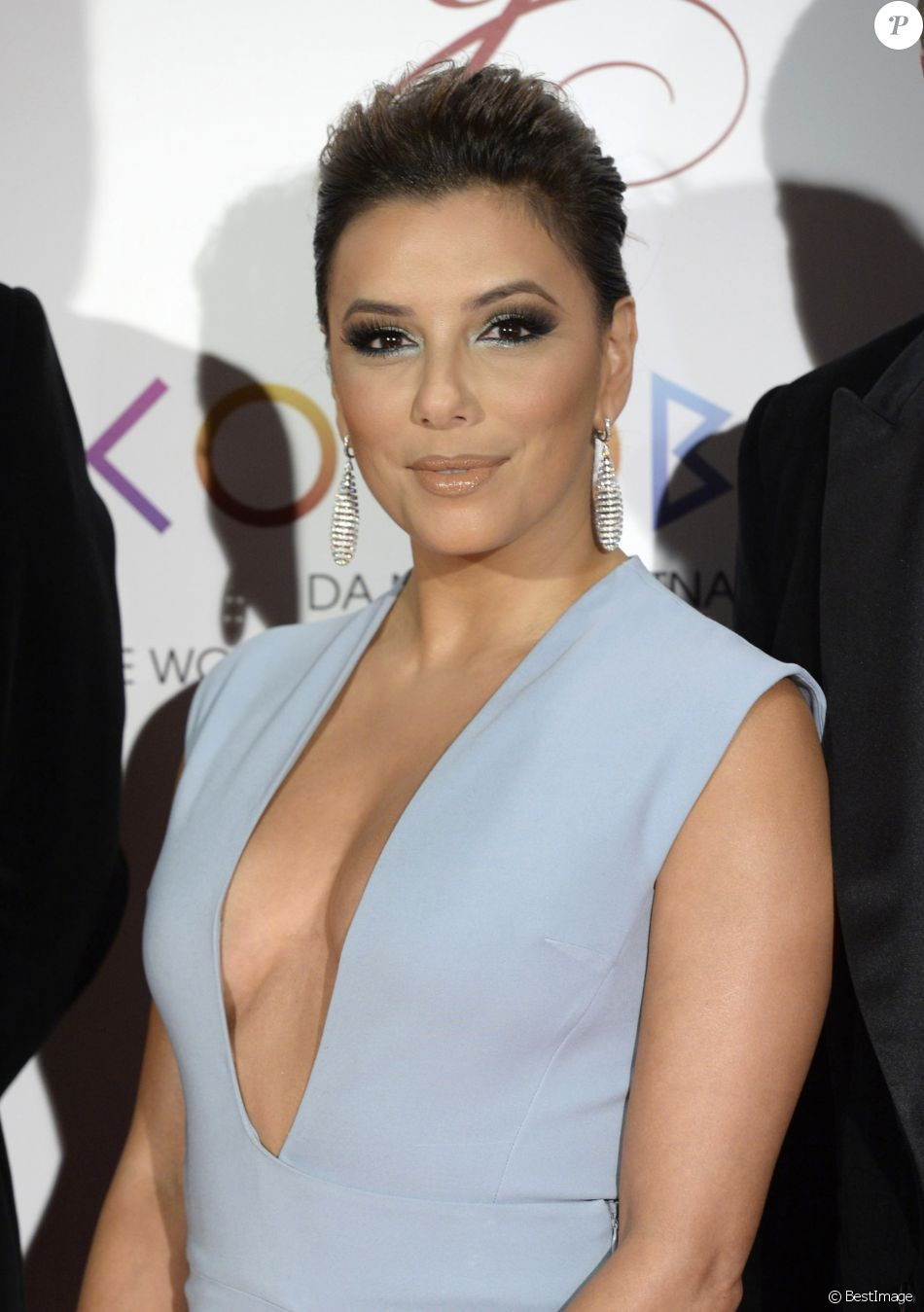 Eva Longoria à la soirée Global Gift au Teatro Real à Madrid, le 4 avril 2017