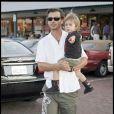 Gavin Rossdale et son petit Kingston à Malibu. 18/01/09
