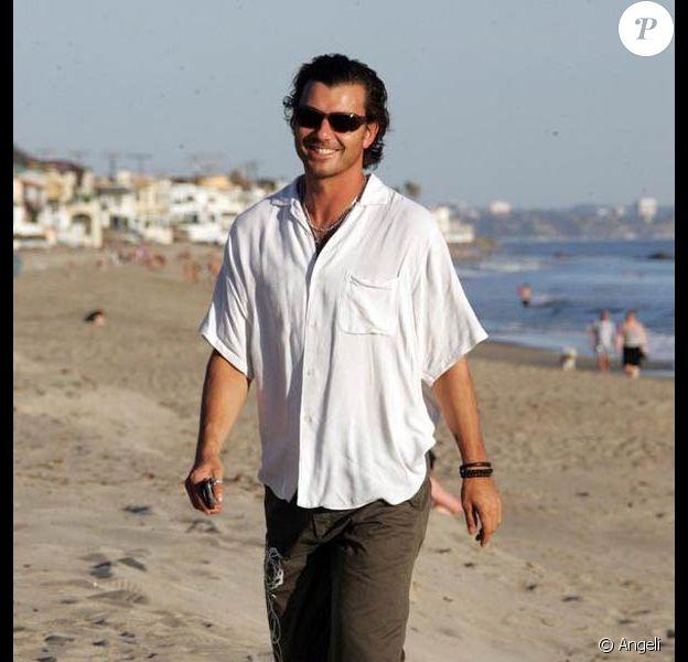 Gavin Rossdale à Malibu. 18/01/09