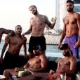 M.Pokora en vacances à Dubaï. Photo postée sur Instagram en janvier 2017.