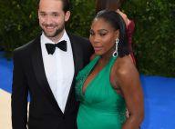 Serena Williams enceinte : Elle s'affiche enfin avec son beau fiancé au Met Gala