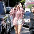 Kendall Jenner est allée déjeuner au restaurant Cuvee à West Hollywood, le 30 mars 2017.