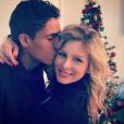Raphaël Varane et sa femme Camille (Tytgat), ici lors de Noël 2016, attendent leur premier enfant pour le printemps 2017. Photo Instagram.