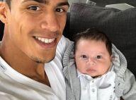 Raphaël Varane : Le jeune papa dévoile le prénom de son fils à croquer