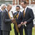 Le prince Philip, duc d'Edimbourg, au club de cricket de Marylebone (MCC) dont il est membre honoraire à vie, à Londres, le 3 mai 2017.