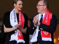 Charlene de Monaco : Au stade avec Albert et Andrea face aux Italiens de la Juve