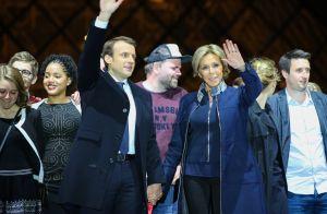 Emmanuel Macron président : Daphné Bürki parodie sa marche du Louvre