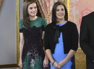 Letizia d'Espagne et Mercedes Peñas Domingo, un tandem ibérique bien assorti