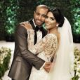 L'attaquant du PSG Lucas Moura a épousé Larissa Saad au Brésil, le 23 décembre 2016.