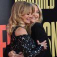 Goldie Hawn et Kate Hudson à la première de 'Snatched' au théâtre Regency Village à Westwood, le 10 mai 2017