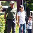 Harrison Ford, Calista Flockhart et leur fils Liam, né et adopté en 2001