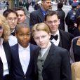 Mia Farrow et sa famille