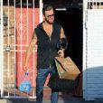 """Mischa Barton et son partenaire Artem Chigvintsev arrivent dans les studios de """"Dancing With the Stars"""" à Los Angeles le 12 Mars 2016."""