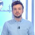 """Laurent Baffie piégé par son fils avec la complicité de Tom Villa dans """"Salut les Terriens !"""" sur C8. Le 13 mai 2017."""