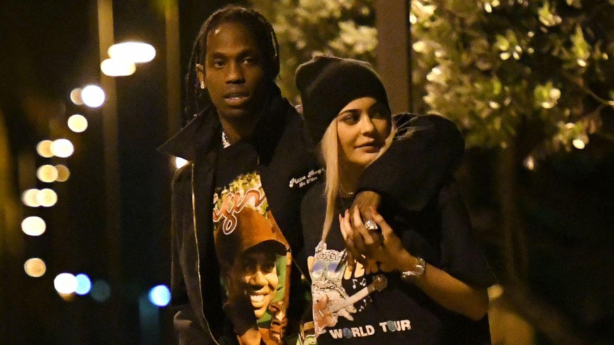 13b4140e31 Kylie Jenner : Son chéri Travis Scott arrêté, leur romance prend un virage  - Purepeople