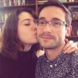 Mary Elizabeth Winstead et Riley Stearns sur une photo publiée sur Instagram le 14 mai 2017. En couple depuis quatorze ans et mariés depuis 2010, l'actrice et le réalisateur ont annoncé leur divorce.