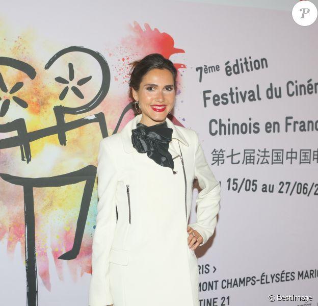 Semi-exclusif - Joyce Jonathan - Photocall du cocktail de la soirée d'ouverture du festival de cinéma chinois à l'hôtel Meurice à Paris, France, le 15 mai 2017. © CVS/Bestimage
