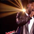 """Lisandro dans """"The Voice 6"""" le 13 mai 2017 sur TF1."""