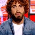 Marius dans The Voice 6 sur TF1, le 18 février 2017.