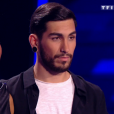 Premier live de  The Voice 6  sur TF1, le 20 mai 2017.