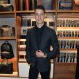 Pierre Niney (Dior, montre Montblanc et chaussures Louboutin) - Soirée à l'occasion de la réouverture du flagship Montblanc Champs-Elysées à Paris, France, le 18 mai 2017. © Coadic Guirec/Bestimage
