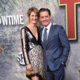 Laura Dern et Kyle MacLachlanà la première de la série 'Twin Peaks' à l'hôtel Ace à Los Angeles, le 19 mai 2017 © Chris Delmas/Bestimage