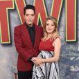 David Dastmalchian et sa femme enceinteà la première de la série 'Twin Peaks' à l'hôtel Ace à Los Angeles, le 19 mai 2017 © Chris Delmas/Bestimage