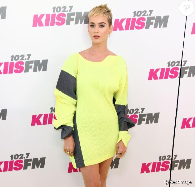 Katy Perry lors de la soirée Kiss FM 2017 à Los Angeles le 13 mai 2017. © CPA/Bestimage