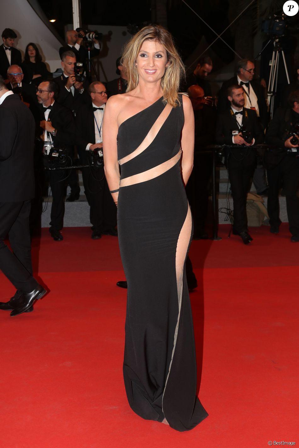 """Caroline Ithurbide - Montée des marches du film """"Happy End"""" lors du 70ème Festival International du Film de Cannes. Le 22 mai 2017. © Borde-Jacovides-Moreau / Bestimage"""