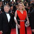 Roman Polanski, Catherine Deneuve- Montée des marches de la Soirée 70ème Anniversaire lors du 70ème Festival International du Film de Cannes. Le 23 mai 2017. © Borde-Jacovides-Moreau / Bestimage